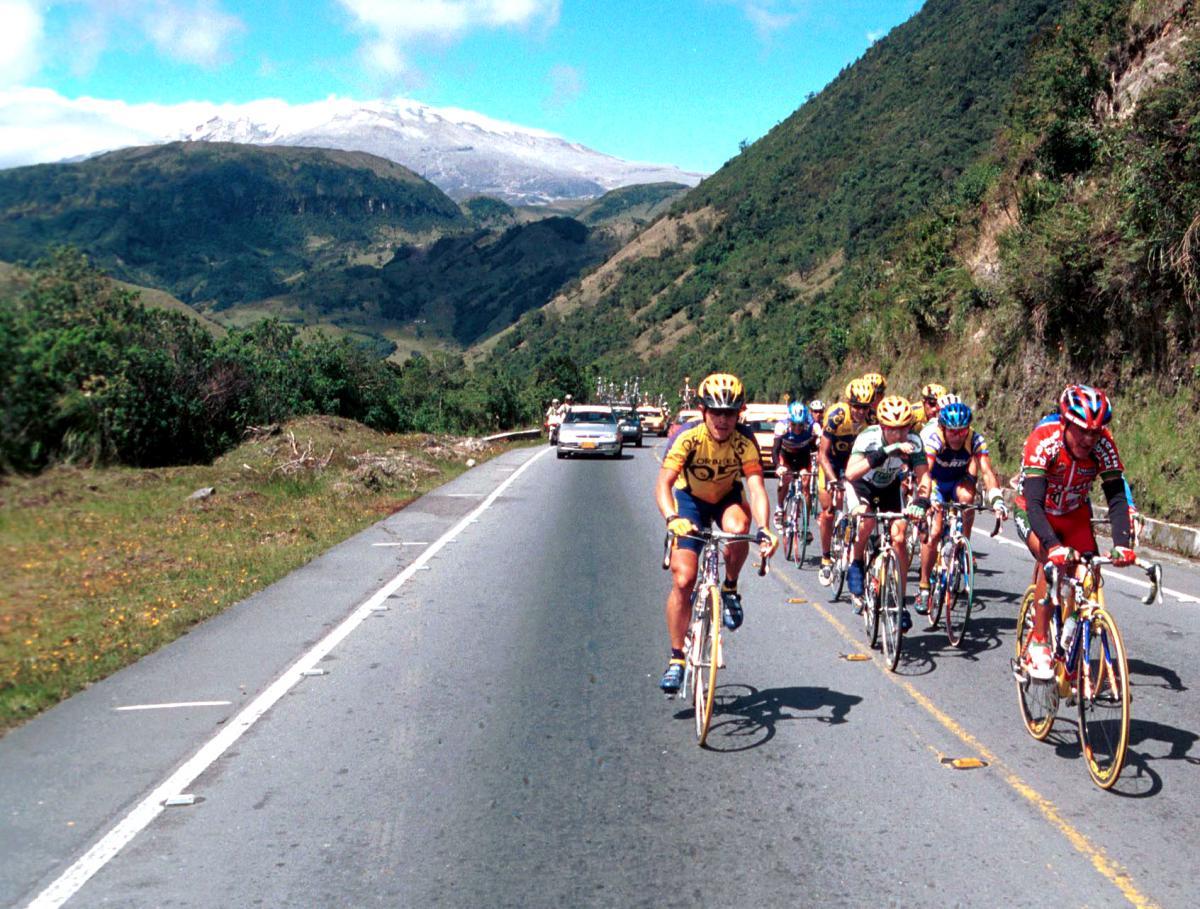 Foto: Archivo El Tiempo - Ciclismo Honda, Colombia