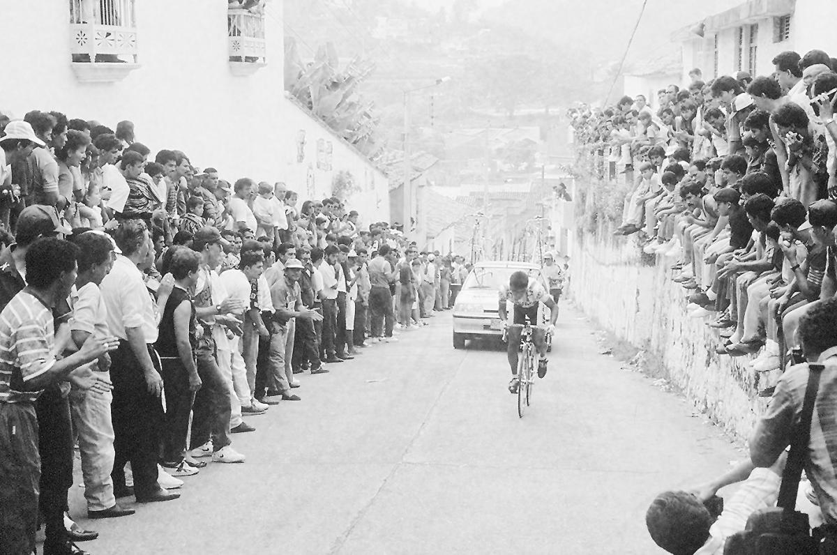 Foto Archivo El Tiempo - Ciclismo Vuelta a Colombia Ocaña